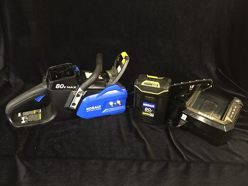 Kobalt 80-Volt Max 18-in Brushless Cordless Electric Chainsaw