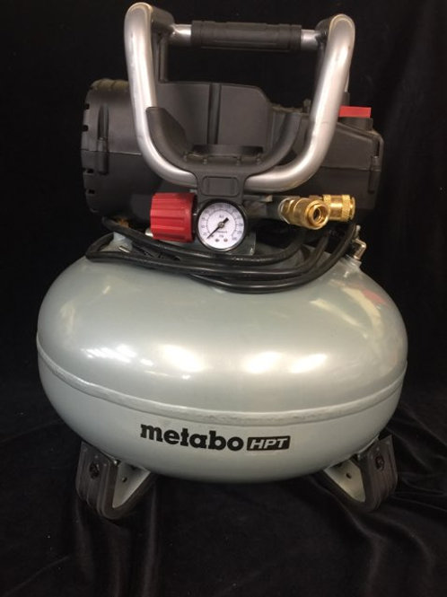 Metabo HPT Portable 6-Gallon Oil-Free Pancake Compressor
