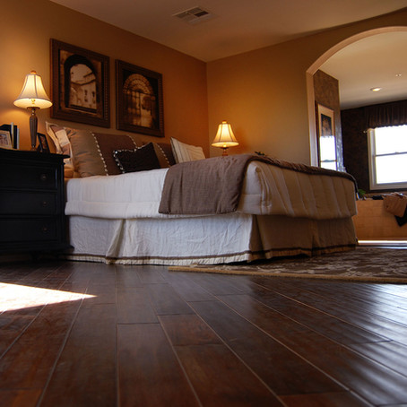 Cleaning Hardwood Floors Between House Cleaning Service Visits