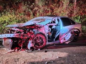 Acidente entre carro e caminhão deixa homem ferido na BR 282 em Maravilha