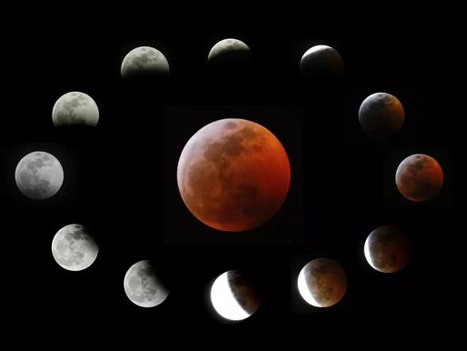 Eclipse com 'superlua' será visível na América Latina na quarta