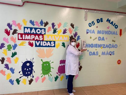 Dia Mundial da Higienização de Mãos é lembrado no Hospital São José