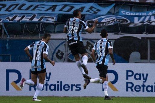 Grêmio aplica goleada histórica pela Sul-Americana