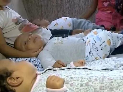 Trigêmeos de SC que perderam mãe após parto vão para casa nova