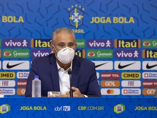 Tite convoca a Seleção para duelos contra Paraguai e Equador