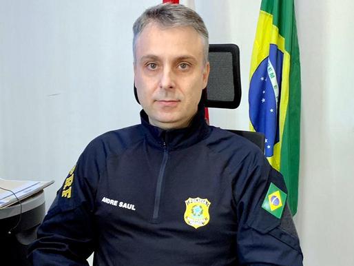 Inspetor André Saul é designado Superintendente da PRF em SC