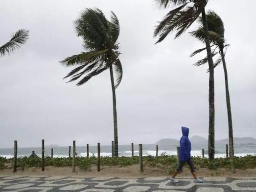 Ciclone extratropical causará fortes rajadas de vento em Santa Catarina