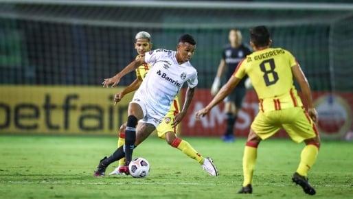 Com reservas, Grêmio goleia Aragua e avança na Sul-Americana