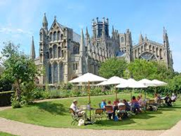 Day trip to Ely, with a stop for lunch 15th July
