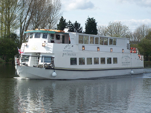 Lunchtime river cruise on the Nottingham Princess.