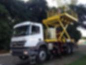 caminhão rodoferroviário