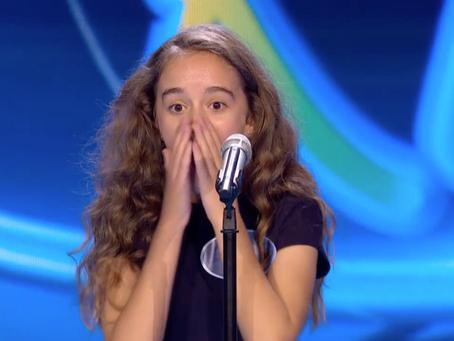 "AUDIO|Natalia Maguilla, la ""voz de musical"" que encandiló al jurado de Idol Kids"