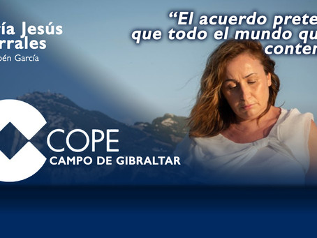 """María Jesús Corrales: """"El acuerdo pretende que todo el mundo quede contento"""""""