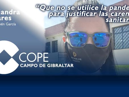 """Alejandra Pajares: """"Que no se utilice la pandemia para justificar las carencias sanitarias"""""""