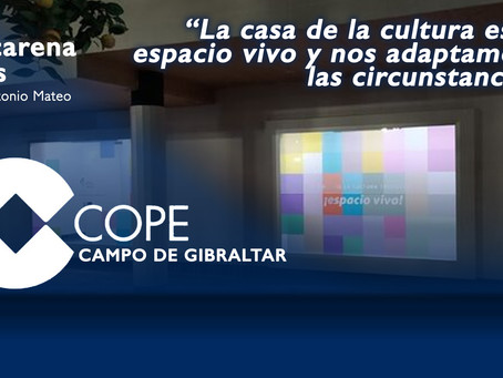 """Macarena Alés: """"La casa de la cultura es un espacio vivo y nos adaptamos a las circunstancias"""""""