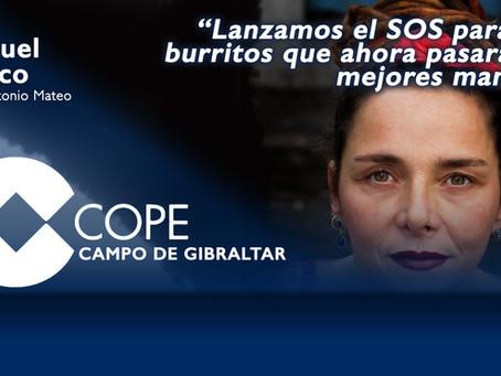 """Raquel Ñeco: """"Lanzamos el SOS para 37 burritos que ahora pasarán a mejores manos"""""""