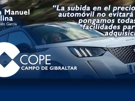 """Juan Manuel Molina: """"La subida en el precio del automóvil no evitará que pongamos facilidades"""""""