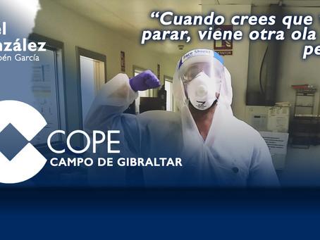 """Abel González: """"Cuando crees que va a parar, viene otra ola aún peor"""""""