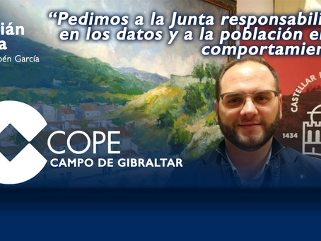 """Adrián Vaca: """"Pedimos a la Junta responsabilidad en los datos y a la población en su comportamiento"""""""
