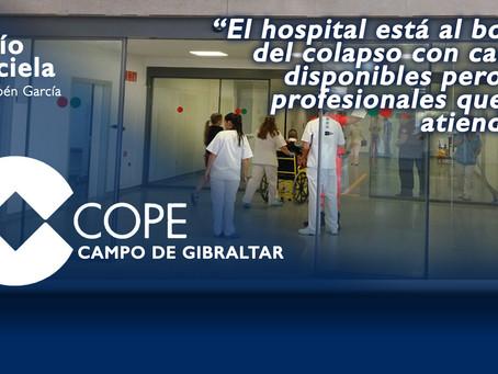 """Rocio Barciela: """"El hospital está al borde del colapso con camas disponibles pero sin profesionales"""""""
