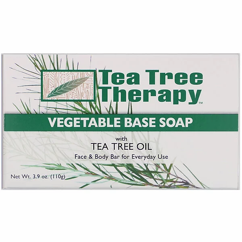 Tea Tree Therapy Vegetable Bar Soap