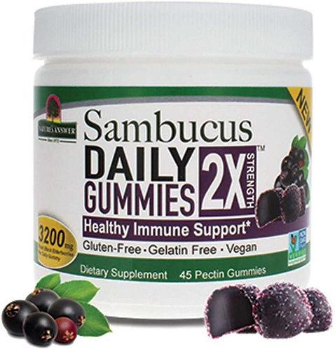 Elderberry 2X Gummies (45ct)
