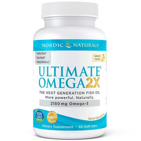 Ultimate Omega 2X Capsules 60 ct