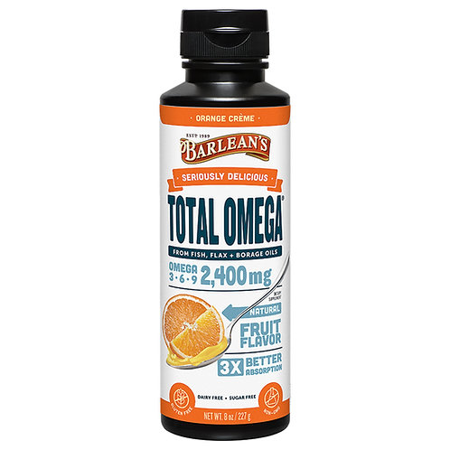 Orange Cream Total Omega 16oz