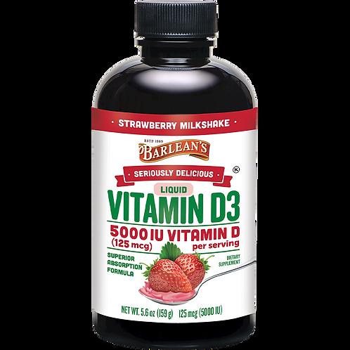 D3 5000IU Strawberry (5.6oz)