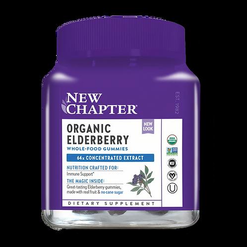 Organic Elderberry Gummies (60ct)