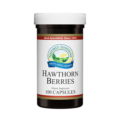 Hawthorn Berries (100ct)