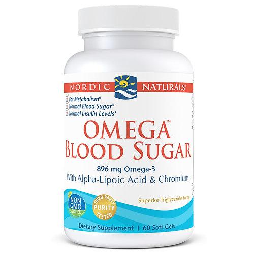 Omega Blood Sugar Capsules 60 ct