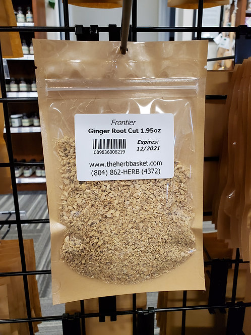 Ginger Root Cut/Sifted 1.95oz