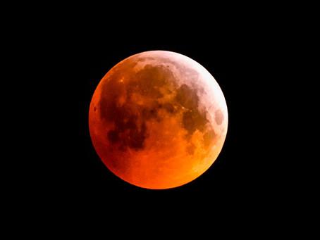 Eclipse Lunar penumbral em 05/07/20
