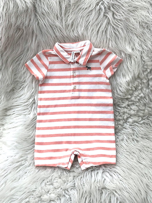 'Janie and Jack' Stripped Romper NWOT| 3-6 MONTHS