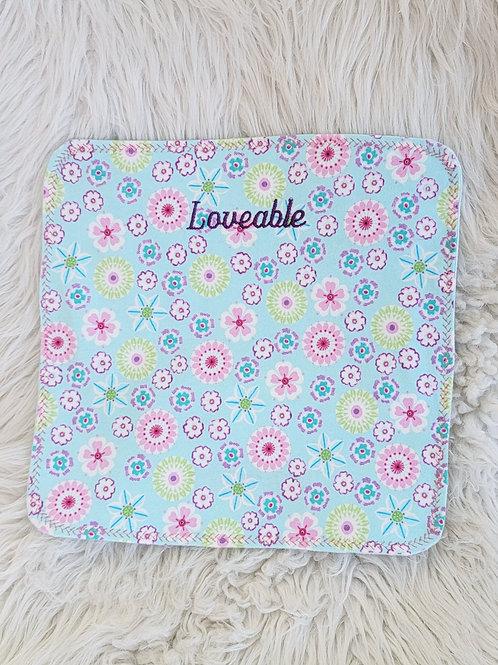 *Loveable* Burp Cloth| HOMEMADE