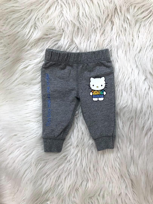 'This boy makes me smile!'| Customized Pants| 3 MONTHS