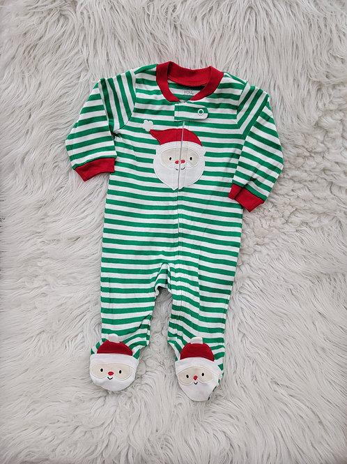 Green Santa Sleeper   3 Months