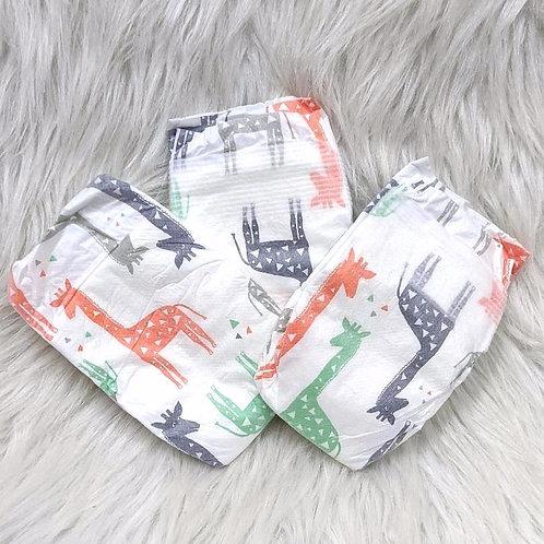 Giraffe Print| Honest Diaper (Size NB)