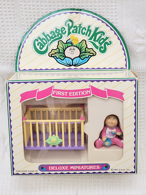1984 VINTAGE Cabbage Patch Kids | deluxe miniature