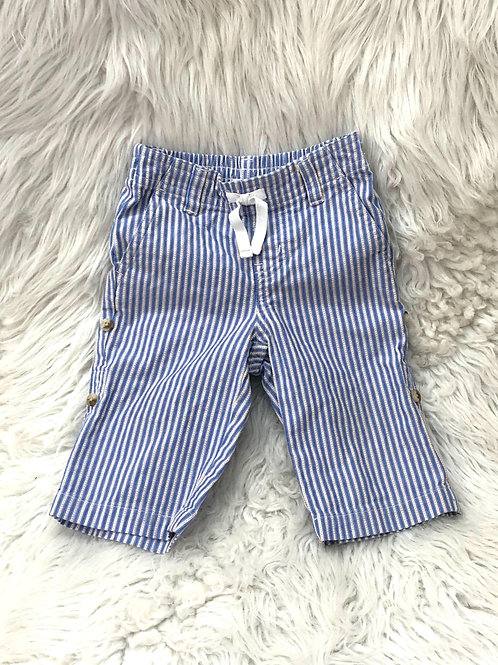 'Janie and Jack' Light Blue Stripped Pants  3-6 MONTHS