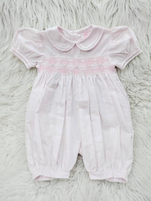 'Petit Ami' Light Pink Romper NWOT| 6 months