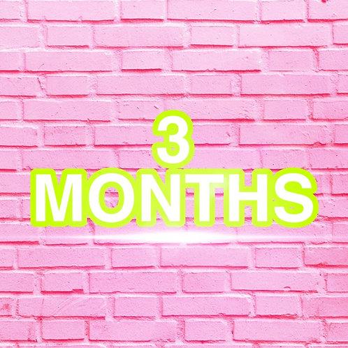 3 Months Clothes