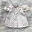Thumbnail: VINTAGE 'Multi-Color HEART Dress' Homemade Dress| 0-3MONTHS