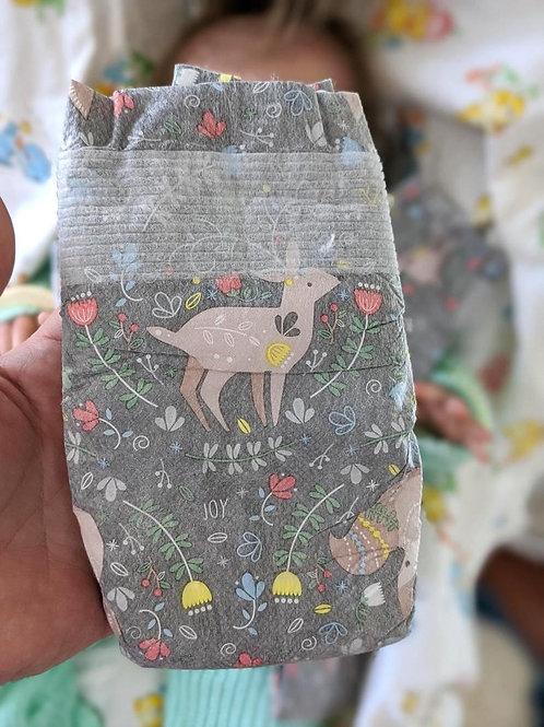 'Fawn & Fox' Diaper (Size 1)