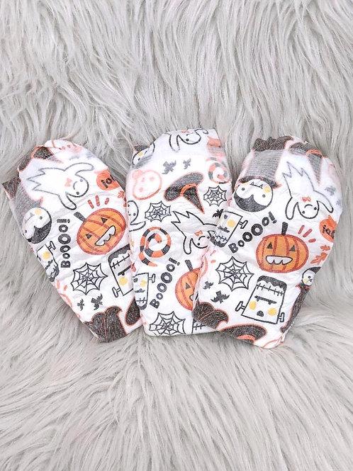 Halloween/Spooky' Diapers  Honest  SIZE: 2