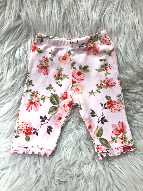 'Baby Nay' Light Pink Floral Pants  6 MONTHS