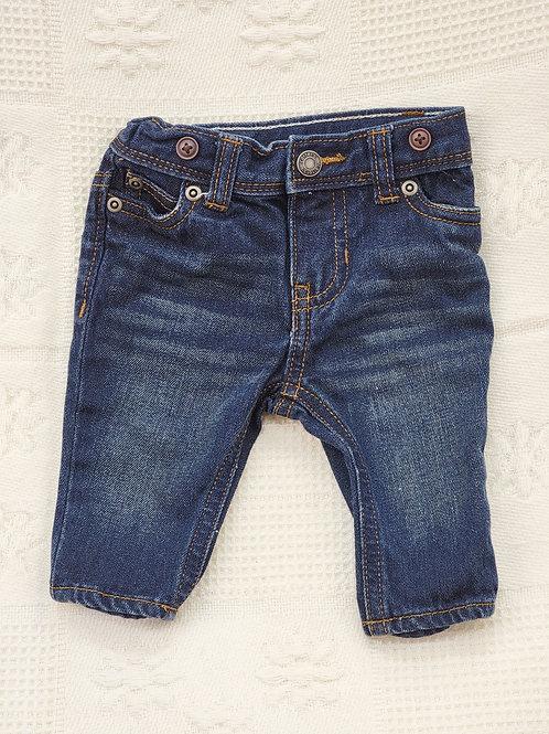 3 MONTHS| 'Carters' *SUSPENDERS* Jeans NWOT