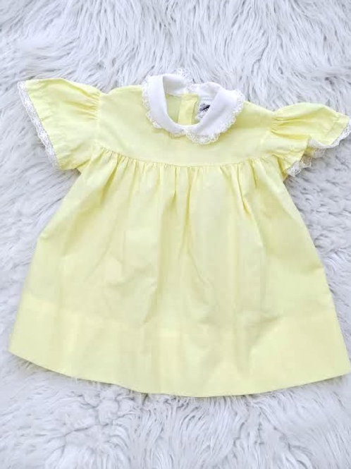 Pastel Yellow Dress| 12-18 MONTHS