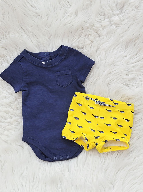 'Janie and Jack' 2pc Set NWOT| 0-3 MONTHS